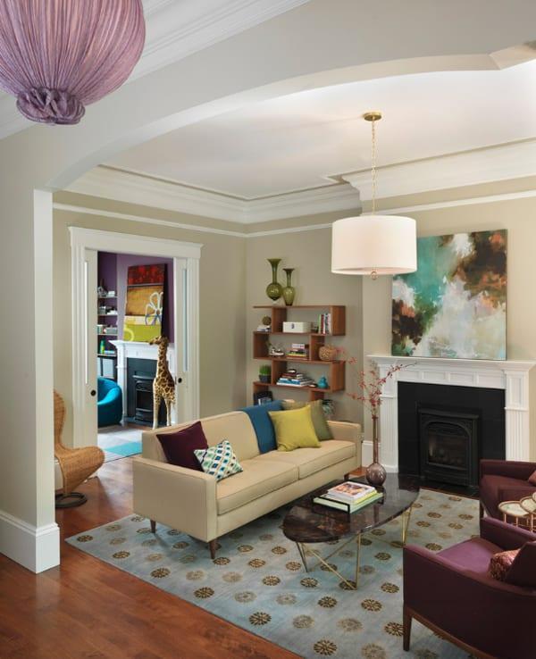 Colorful Living Room Design Ideas-36-1 Kindesign