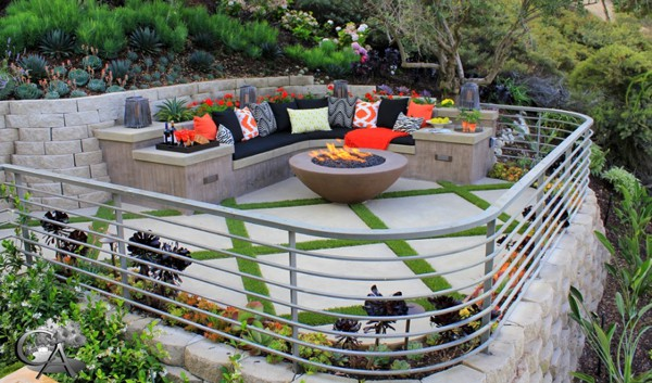 Colorful Outdoor Living Spaces-17-1 Kindesign