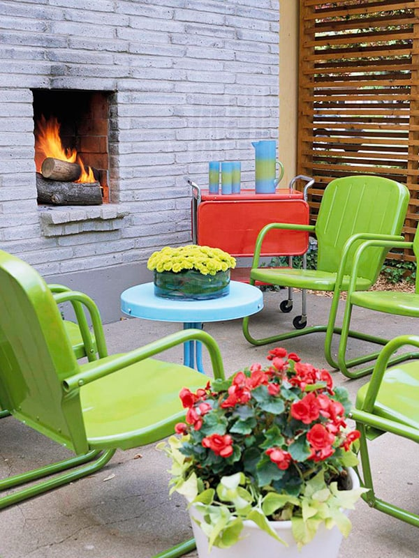 Colorful Outdoor Living Spaces-36-1 Kindesign