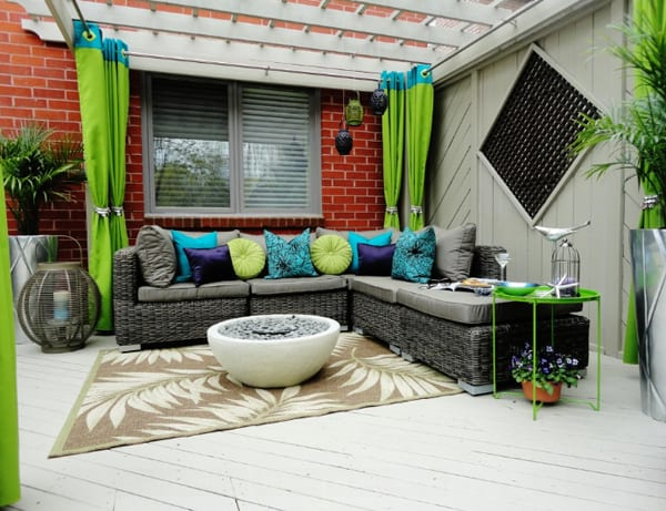 Colorful Outdoor Living Spaces-54-1 Kindesign