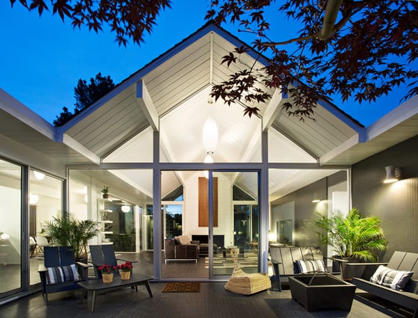 featured posts image for Double Gable Eichler Remodel by Klopf Architecture