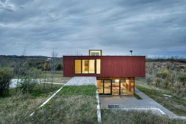 featured posts image for The House in Frogs Hollow Overlooking Georgian Bay