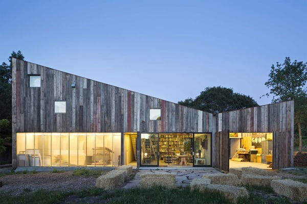 featured posts image for Meier Road Barn in Sonoma by Mork Ulnes Architects