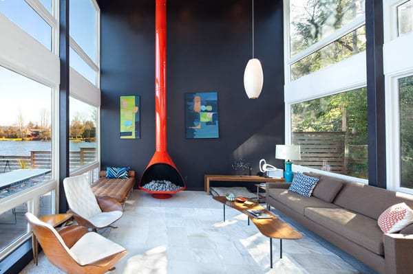 featured posts image for Waterfront mid-century modern home in Washington