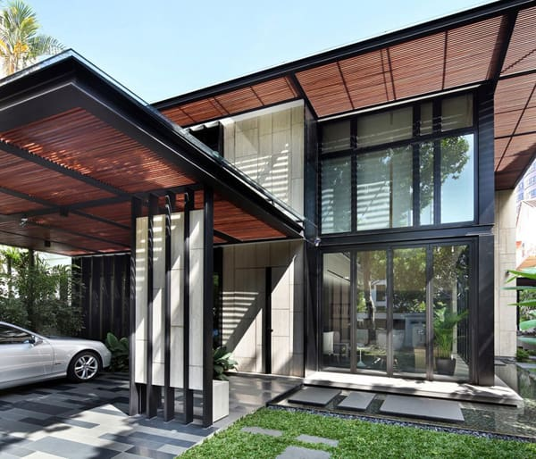 featured posts image for One Tree Hill House in Singapore by ONG&ONG