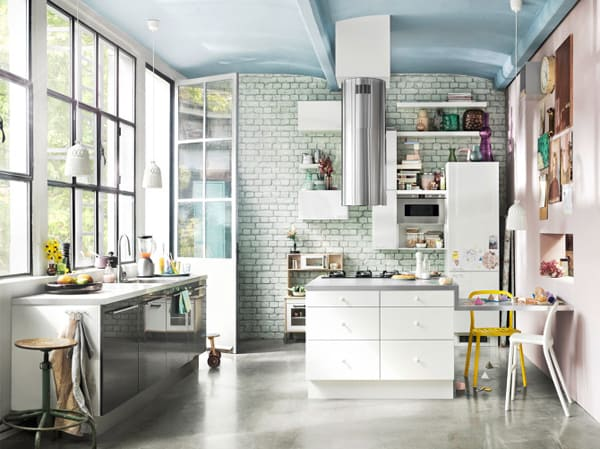 Scandinavian Kitchen Designs-33-1 Kindesign