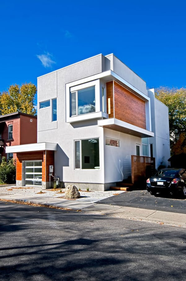 featured posts image for Modern Fold Place Residence in Ottawa by Linebox Studio