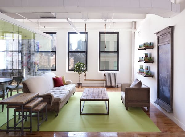 featured posts image for GoGo squeeZ office in NYC showcases playful custom decals