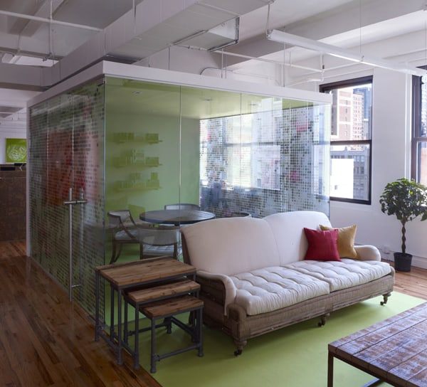 Gogo Squeez Office In Nyc Showcases Playful Custom Decals
