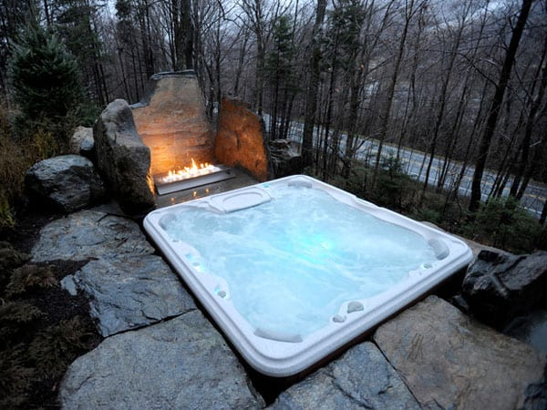 featured posts image for 47 Irresistible hot tub spa designs for your backyard