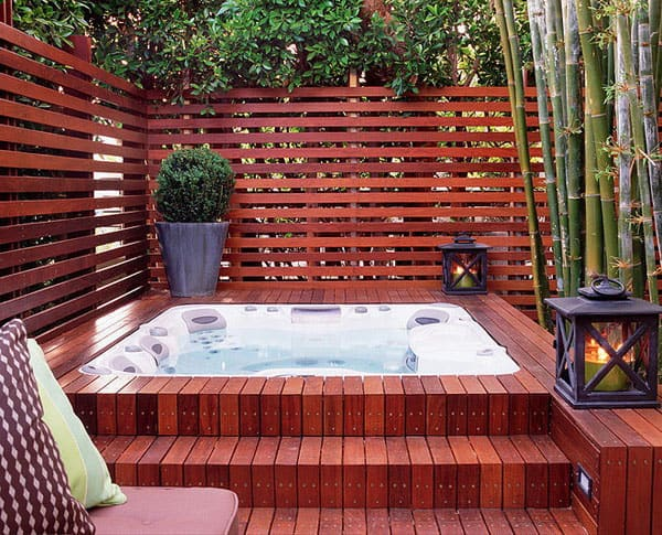 47 Irresistible hot tub spa designs for your backyard on barbecue backyard ideas, duplex backyard ideas, farmhouse backyard ideas, townhouse backyard ideas, cabin backyard ideas, forest backyard ideas, english backyard ideas, barn backyard ideas, oriental backyard ideas, industrial backyard ideas, traditional backyard ideas, cowboy backyard ideas, vacation backyard ideas, waterfront backyard ideas, craftsman backyard ideas, cape cod backyard ideas, french backyard ideas, mission backyard ideas, custom backyard ideas,