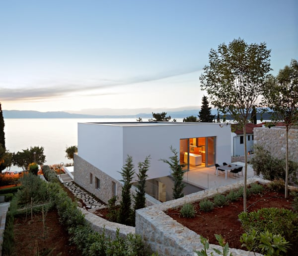 featured posts image for House on Krk Island with stunning seaviews by DVA Arhitekta