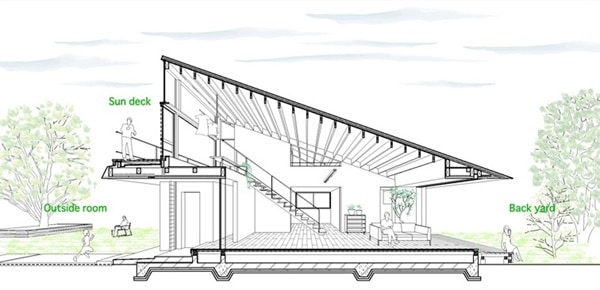 House with a Large Hipped Roof-Naoi Architecture-17-1 Kindesign