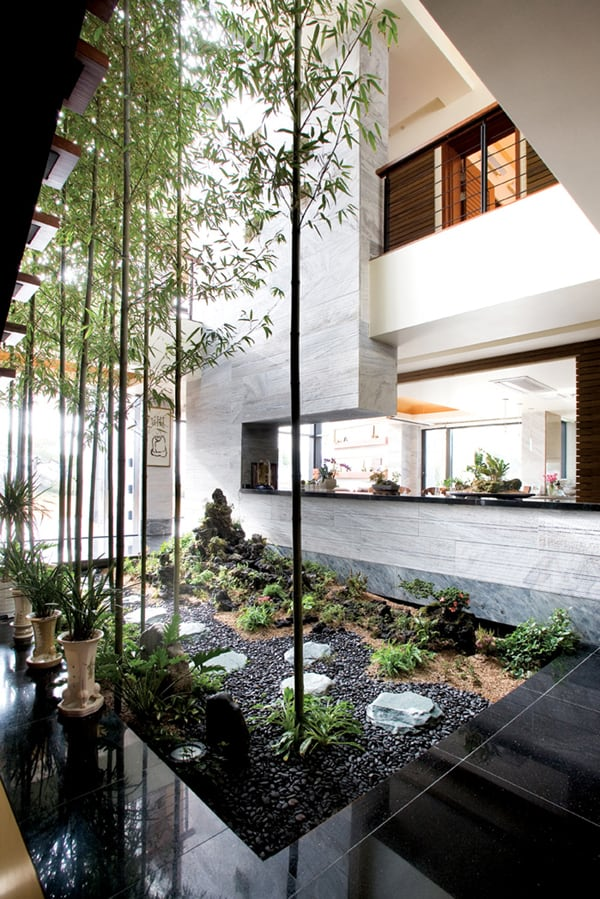 & 58 Most sensational interior courtyard garden ideas
