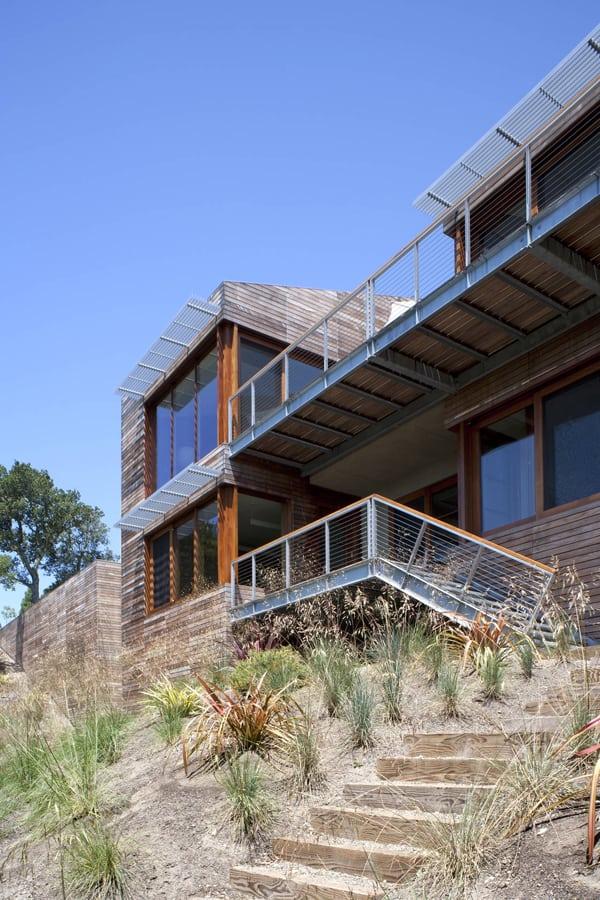 Kentfield Hillside Residence-Turnbull Griffin Haesloop-05-1 Kindesign