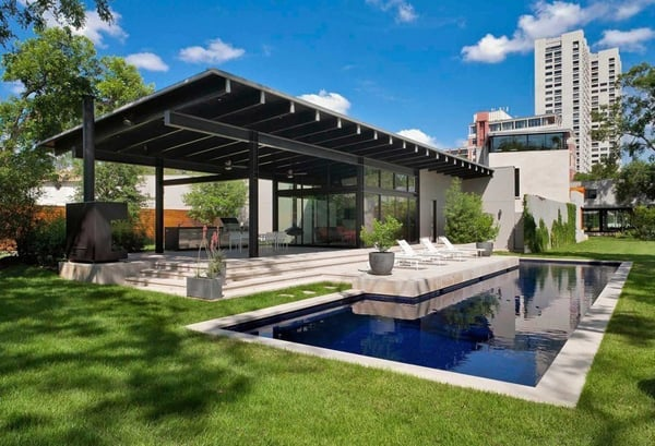 featured posts image for Incredibly designed modern property in Houston