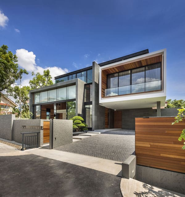 featured posts image for Two-story house in Singapore boasting modern interiors
