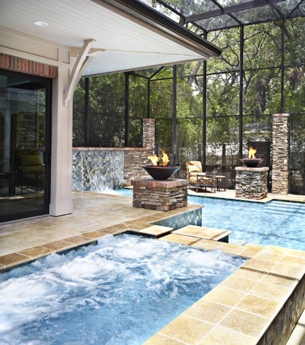 Modern Indoor Pools-15-1 Kindesign