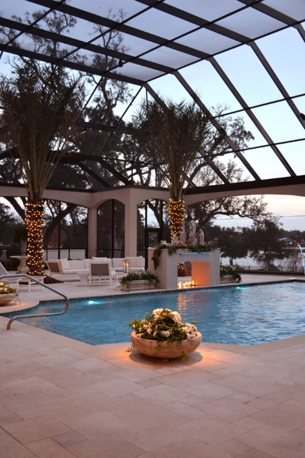 50 ridiculously amazing modern indoor pools for Pool design course