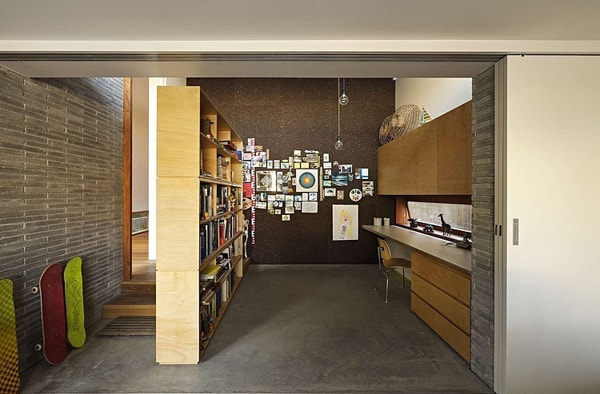 Plywood House ii-Andrew Burges Architects-15-1 Kindesign