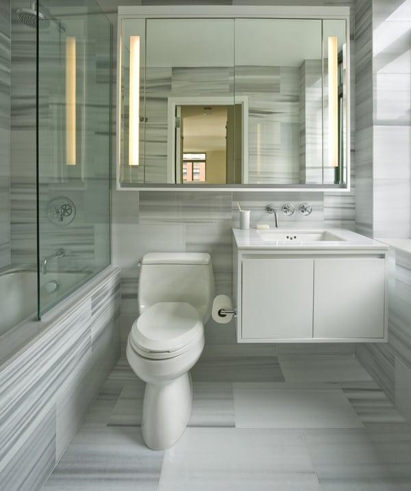 Small Bathroom Design Ideas-06-1 Kindesign