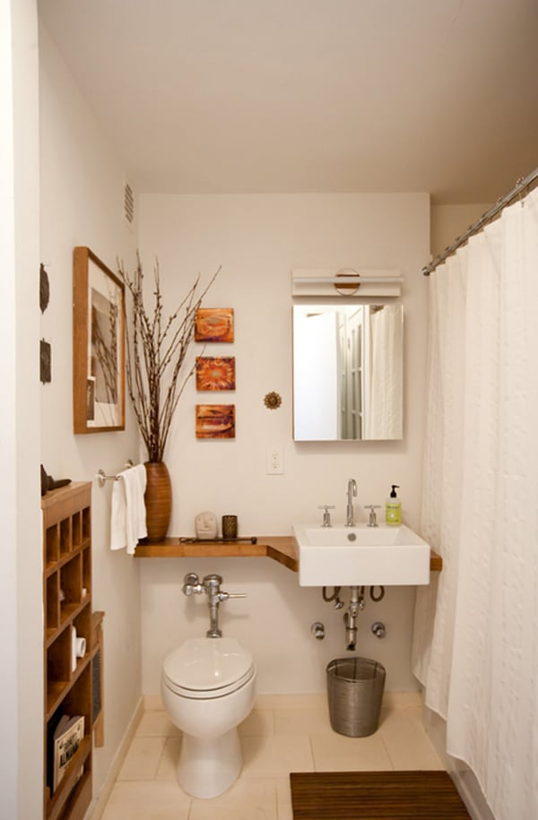 Small Bathroom Design Ideas-30-1 Kindesign