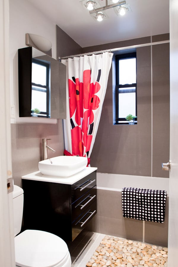 40 stylish and functional small bathroom design ideas for Small bathroom ideas 2014