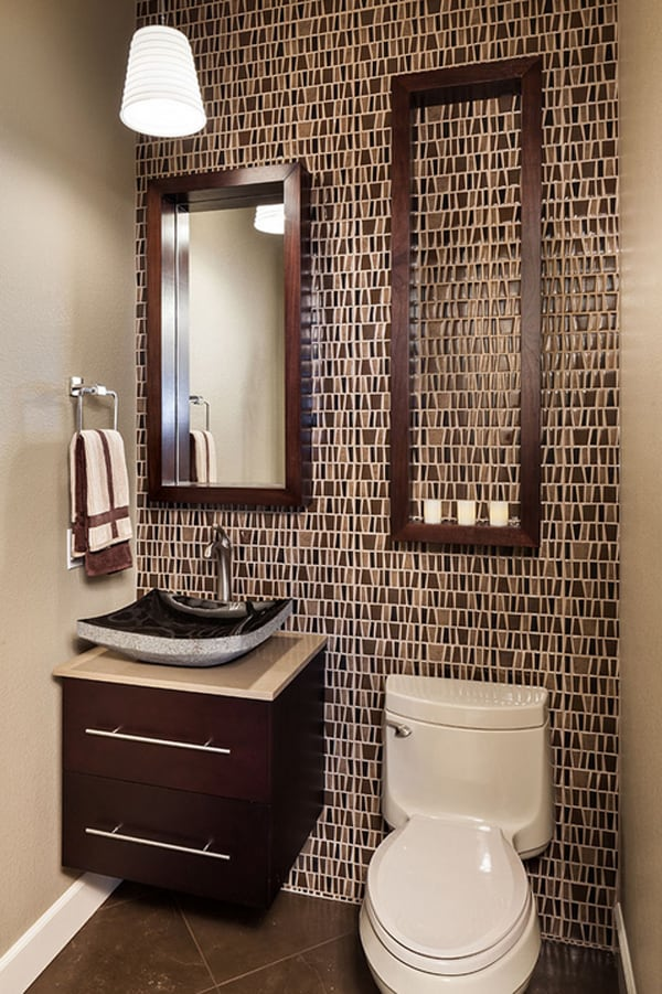 5 Decorating Ideas For Small Bathrooms: 40 Stylish And Functional Small Bathroom Design Ideas
