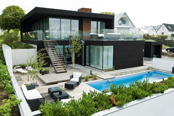 featured posts image for Spectacular split level home in Sweden: Villa Nilsson