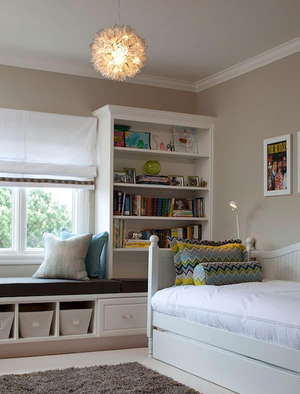 Bedrooms With Bookshelves 32 1 Kindesign