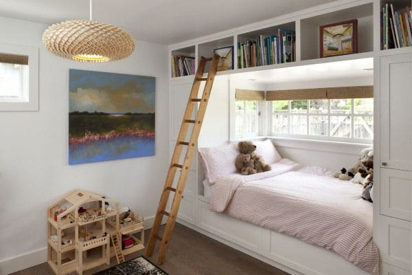 Bedrooms With Bookshelves 40 1 Kindesign