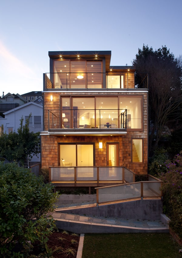 featured posts image for Striking update to shingle style bungalow in San Francisco