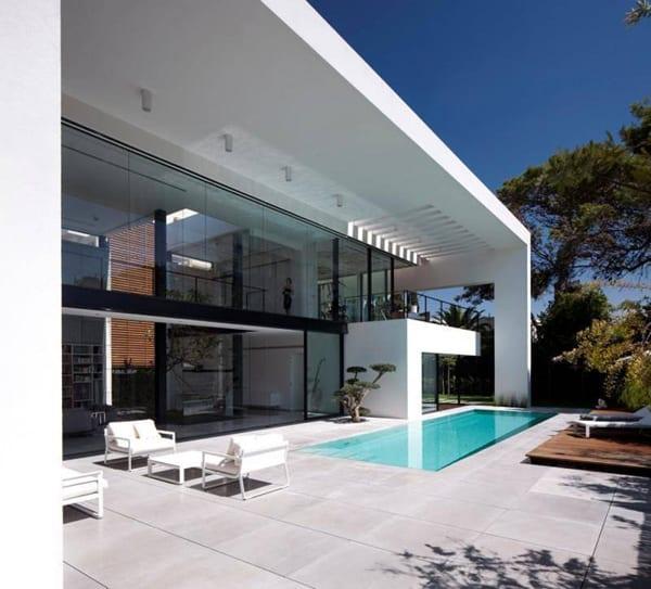 Contemporary Bauhaus on the Carmel-Pitsou Kedem Architects-04-1 Kindesign