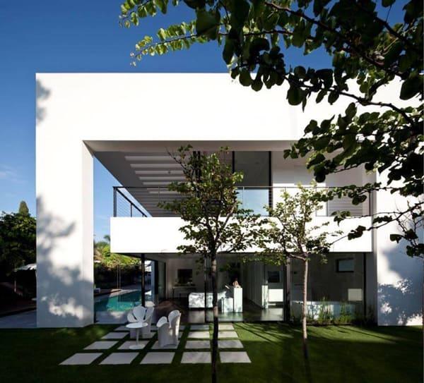 Contemporary Bauhaus on the Carmel-Pitsou Kedem Architects-06-1 Kindesign