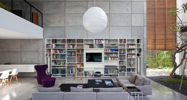Contemporary Bauhaus on the Carmel-Pitsou Kedem Architects-08-1 Kindesign
