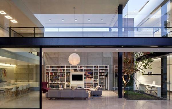 Contemporary Bauhaus on the Carmel-Pitsou Kedem Architects-09-1 Kindesign