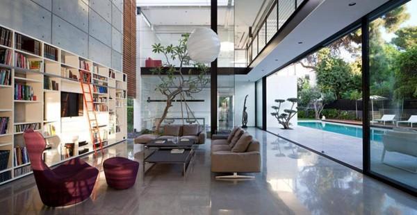 Contemporary Bauhaus on the Carmel-Pitsou Kedem Architects-13-1 Kindesign