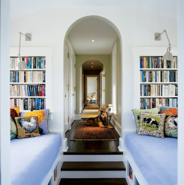 Cozy Living Spaces with Books-05-1 Kindesign