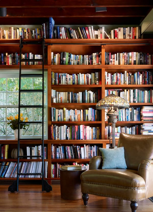 Cozy Living Spaces with Books-06-1 Kindesign