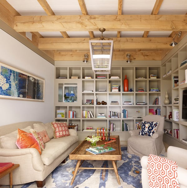 Cozy Living Spaces with Books-08-1 Kindesign
