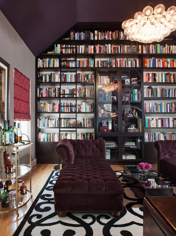 Cozy Living Spaces with Books-09-1 Kindesign
