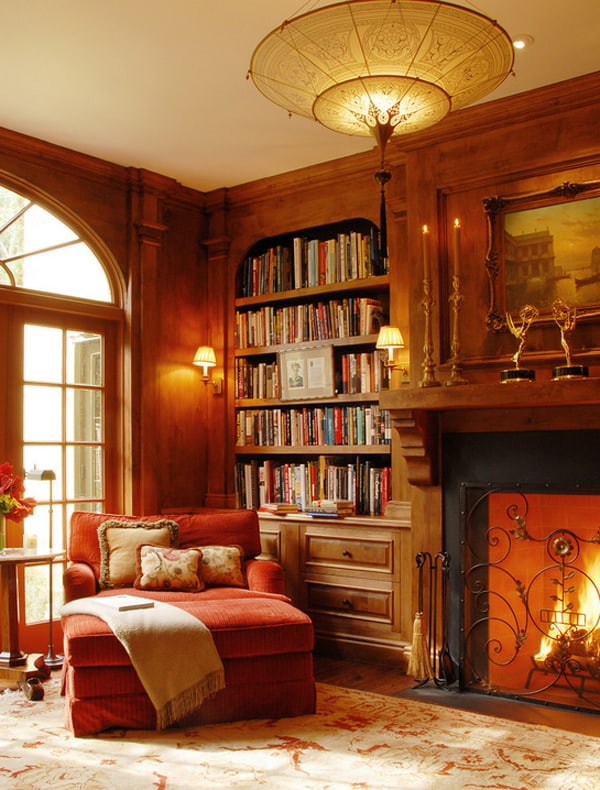 Cozy Living Spaces with Books-17-1 Kindesign