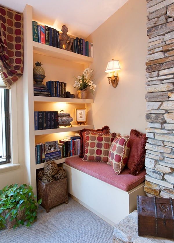 Cozy Living Spaces with Books-19-1 Kindesign