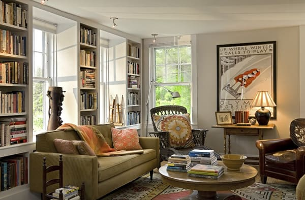 Cozy Living Spaces with Books-26-1 Kindesign