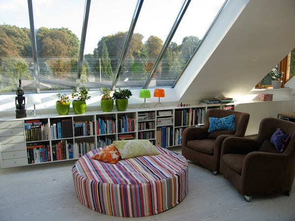 Cozy Living Spaces with Books-29-1 Kindesign