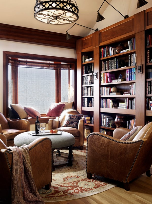 Cozy Living Spaces with Books-31-1 Kindesign