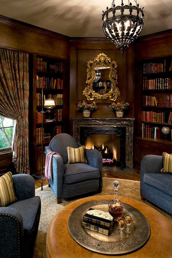 Cozy Living Spaces with Books-34-1 Kindesign