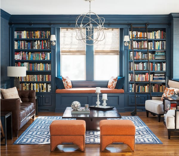 Cozy Living Spaces with Books-36-1 Kindesign