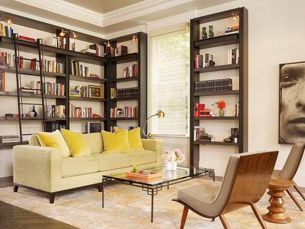 Cozy Living Spaces with Books-38-1 Kindesign