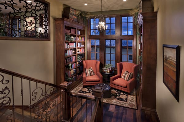 Cozy Living Spaces with Books-39-1 Kindesign